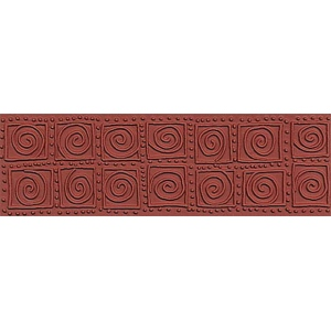 ColorBox® Molding Mats Jumbo Swirl Blocks; Material: Rubber; Type: Molding Mat; (model CS69353), price per each
