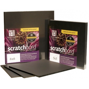 "Ampersand Professional's Choice Scratchbord: 8"" x 8"", Case of 12"