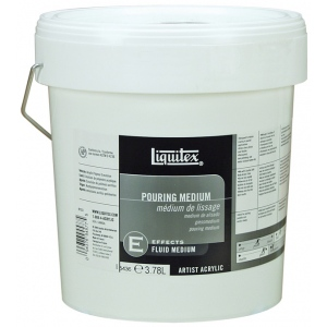 Liquitex® Pouring Medium 1 Gallon; Size: 128 oz; Type: Acrylic Painting; (model 5436), price per each