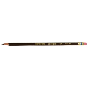 Col-Erase® Erasable Color Pencil Tuscan Red: Red/Pink, (model SN20054), price per dozen (12-pack)
