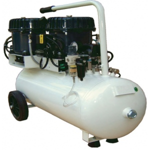 Silentaire Val-Air 150-50 AL Silent Running Airbrush Compressor: Oil Lubricated