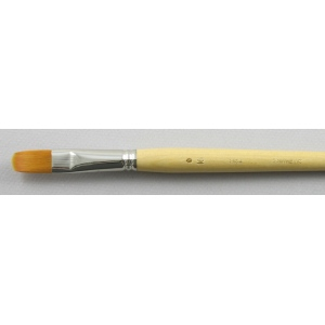 Synthetic Hair 3103: Filbert Size 16 Brush