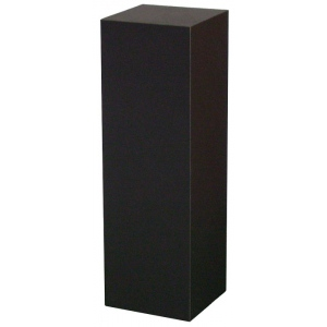 "Xylem Black Laminate Pedestal: 18"" x 18"" Base, 12"" Height"