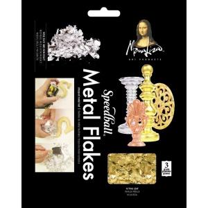 Mona Lisa™ Metal Flakes™ Gold: Metallic, 3 g, (model ML10009), price per each