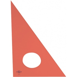 "Alvin® ; Angle: 30/60; Color: Orange; Material: Acrylic; Size: 14""; Type: Triangle; (model 130F-14), price per each"