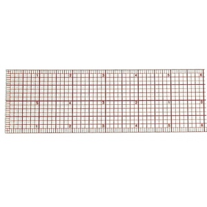 "Westcott® C-Thru® 12"" Beveled Graph Ruler; Color: Clear; Material: Plastic; Size: 12""; Type: Ruler; (model B70), price per each"