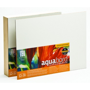 "Ampersand 1/8"" Thick Aquabord: 8"" x 8"", Case of 12"