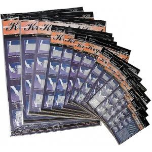 "Krystal Seal™ Self-Sealing Art Print and Photo Bags 5"" x 7""; Color: Clear; Format: Bag; Material: Polypropylene; Size: 4"" x 6""; (model KS0507), price per pack"