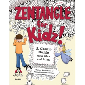 Zentangle® For Kidz! Book: Book, (model DO3463), price per each