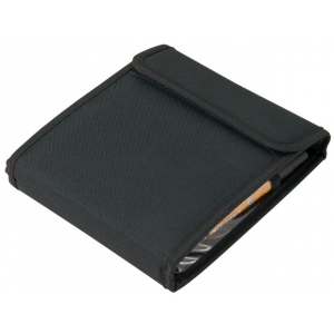 "Heritage Arts™ Marker Case Holds 12: 12 Markers, Black/Gray, Nylon, 6 1/2"" x 19 1/4"", Case, (model MC12), price per each"
