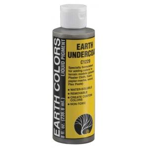 Woodland Scenics® Earth Colors Undercoat Liquid Pigment: Brown, Green, Terrain, (model C1229), price per each