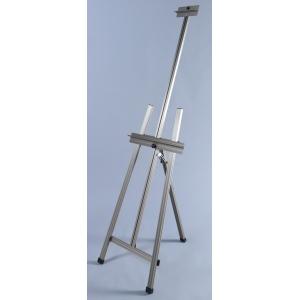 Martin Ambiente Dezign A-Frame Easel: Natural Aluminum, Model # 92-20505