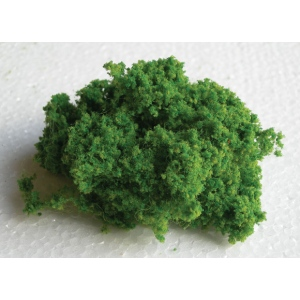 Wee Scapes™ Architectural Model Light Green Bush Foliage Cluster; Color: Green; Coverage: 150 sq in; Material: Poly Fiber, Turf; Type: Bushes, Foliage; (model WS00340), price per each