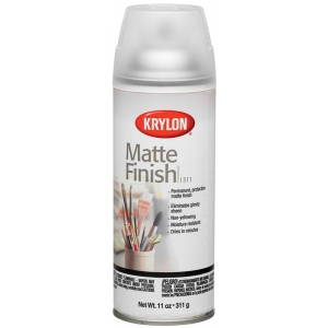 krylon matte finish spray 11 oz can spray varnishes and coatings. Black Bedroom Furniture Sets. Home Design Ideas