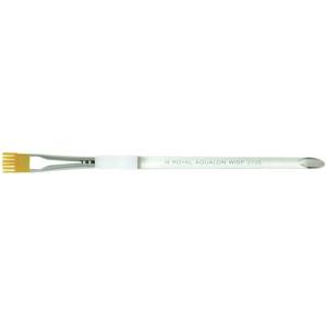 Royal & Langnickel® Aqualon Taklon Watercolor and Acrylic Brush Wisp Brush 1/2: Best, Short Handle, Taklon, Wisp Brush, Acrylic, Watercolor, (model R2735-1/2), price per each