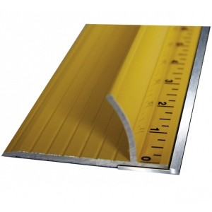 Speedpress Ultimate Steel Safety Ruler: 100""