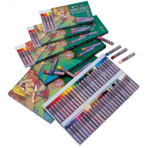 Cray-Pas® Expressionist® Oil Pastel 50-Color Set; Color: Multi; Format: Stick; Type: Oil; (model XLP50), price per pack