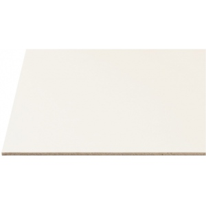 "Alvin® Draft-Art Hot Press Illustration Board 20 x 30; Color: White/Ivory; Format: Sheet; Quantity: 25 Sheets; Size: 20"" x 30""; Texture: Hot Press; Type: Illustration Board; (model 2250-25), price per 25 Sheets box"