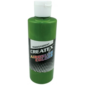 Createx™ Airbrush Paint 4oz Leaf Green: Green, Bottle, 4 oz, Airbrush, (model 5115-04), price per each