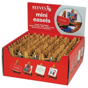 Reeves Mini Easels Counter Display: 100 Pieces