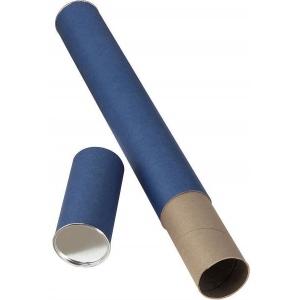 "Alvin® Blue Fiberboard Tube 2 1/2"" I.D. x 43""; Color: Blue; Material: Fiberboard; Size: 2 1/2"" x 43""; (model T413-43), price per each"