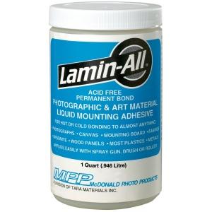 Fredrix® Lamin-All® Adhesive Quart: 1 qt, Permanent, (model T95001), price per each