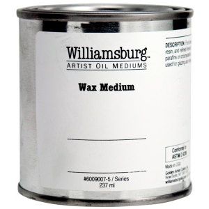 Williamsburg® Wax Medium 8 oz.; Size: 8 oz; Type: Wax; (model 6009007-5), price per each