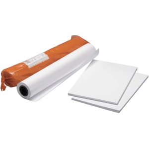 "Clearprint® 9040IJ 11"" x 17"" Bright White Bond Plotter Paper Sheets; Color: White/Ivory; Finish: Matte; Format: Sheet; Quantity: 100 Sheets; Size: 11"" x 17""; Weight: 24 lb; (model CP94201516), price per 100 Sheets"