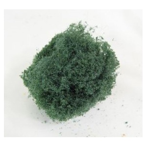 Wee Scapes™ Architectural Model Fine Dark Green Foliage Cluster; Color: Green; Coverage: 150 sq in; Material: Poly Fiber, Turf; Type: Foliage; (model WS00343), price per each