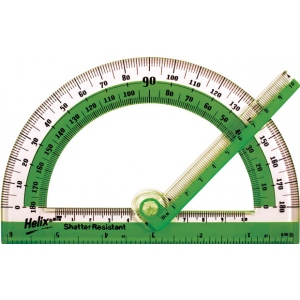 "Helix® 6"" Swing Arm Protractor; Size: 6""; Type: Protractor; (model H60009), price per each"