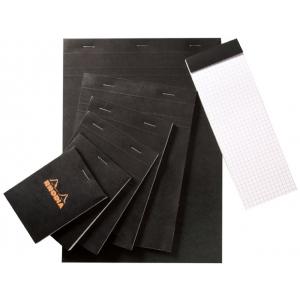 "Rhodia 2.75 x 4.5 Graphic Sketch/Memo Pad: White/Ivory, Pad, 5"" x 5"", 80 Sheets, 2 3/4"" x 4 1/2"", 20 lb, (model RB11), price per 80 Sheets pad"