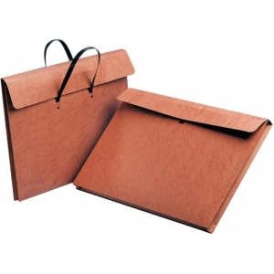 """Star® 20"""" x 26"""" Carrying Wallet; Color: Red/Pink; Material: Fiberboard; Size: 20"""" x 26""""; (model E26H), price per each"""