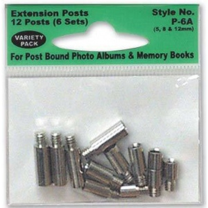 Pioneer® Extension Posts Asst 6 Sets/Pk: 12 mm, Extension Post, (model P6A), price per pack