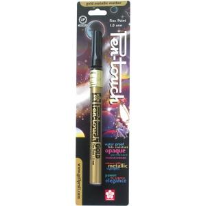Pen-touch™ Gold Fine Paint Pen: Metallic, Paint, Fine Nib, (model 41381), price per each