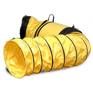 "Yellow 15"" Vinyl Hose with Cuff"