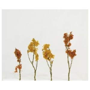 "Wee Scapes Architectural Model Foliage Tree: Fall Mix, Size 1.5""-3"", Pack of 24"