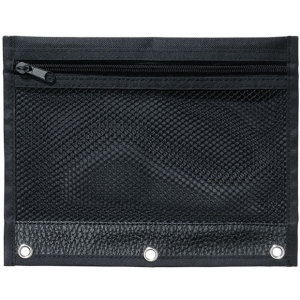 "Heritage Arts™ Binder Pouch; Color: Black/Gray; Material: Nylon; Size: 7 1/2"" x 10""; Type: Case; (model BP12), price per each"