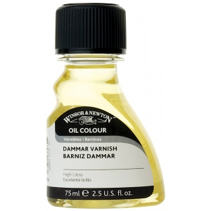 Winsor & Newton™ Dammar Varnish 75ml: 75 ml, Varnish, (model 3221741), price per each