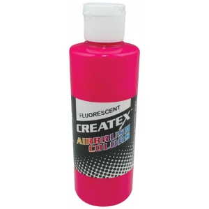 Createx™ Airbrush Paint 2oz Fluorescent Magenta: Red/Pink, Bottle, 2 oz, Airbrush, (model 5406-02), price per each