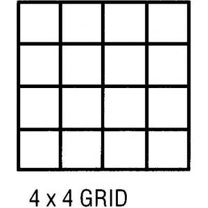 "Clearprint® 1000H Series 36 x 20yd Vellum Roll 4x4 Grid; Format: Roll; Grid Size/Pattern: 4"" x 4""; Size: 36"" x 20 yd; Weight: 16 lb; (model CP10104151), price per roll"