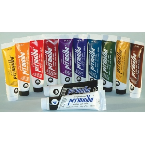 12 Assorted Color Professional Permalba Oil: 150 ml