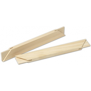 "Fredrix 17"" Traditional Stretcher Strip: 11/16"" x 1 9/16"""