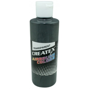Createx™ Airbrush Paint 4oz Medium Gray: Black/Gray, Bottle, 4 oz, Airbrush, (model 5129-04), price per each