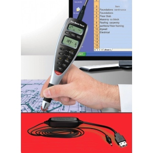 Calculated Industries® Scale Master® Pro XE 15' USB Plan Measure Interface Cable; Style: Digital; Type: Map Measure; (model DSM65A), price per each