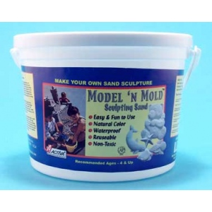 Model 'N Mold: Beach Sand, 3 lb Box, Pack of 4