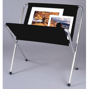 "Testrite® Canvas Print Rack 42"" x 36"": Black/Gray, Canvas, 36"" x 42"", Display, (model PR42), price per each"