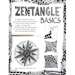 Zentangle® Basics Book; Format: Book; (model DO3450), price per each