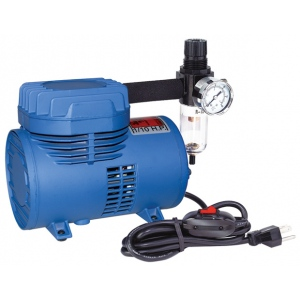 Paasche D500SR Air Compressor with Switch and Regulator