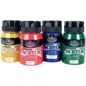 Royal & Langnickel® Essentials™ Acrylic Paint 16.9oz Napthol Carmine; Format: Jar; Type: Acrylic; (model RAA-5111), price per each
