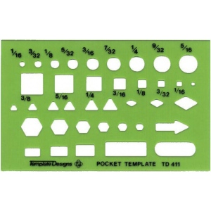 Alvin Pocket Guide: drafting template